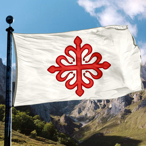 Knights Of Calatrava Flag - Flags Banners & Accessories Flag Flags