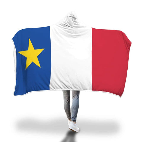 Image of Acadian Hooded Blanket - Hooded Blanket Blankets Hooded Blankets