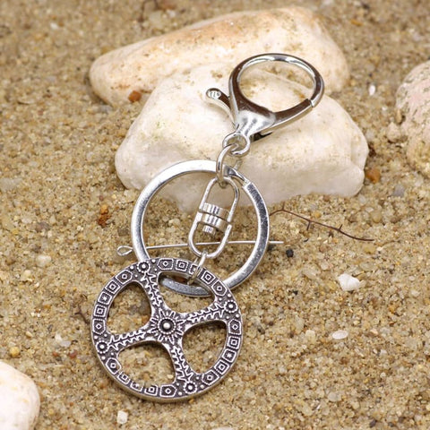 Image of Amulet Wheel Of Life Celtic Keychain - Keychain Vikings