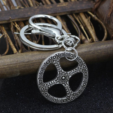 Amulet Wheel Of Life Celtic Keychain - Keychain Vikings