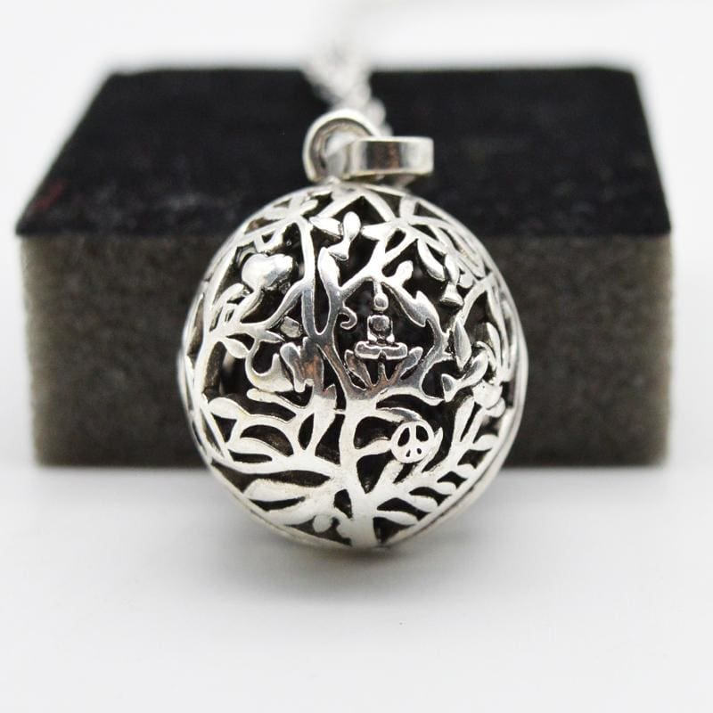 Aromatherapy Essential Oil Diffuser Necklace - Jewelry