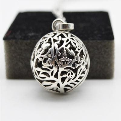 Image of Aromatherapy Essential Oil Diffuser Necklace - Orb - Jewelry