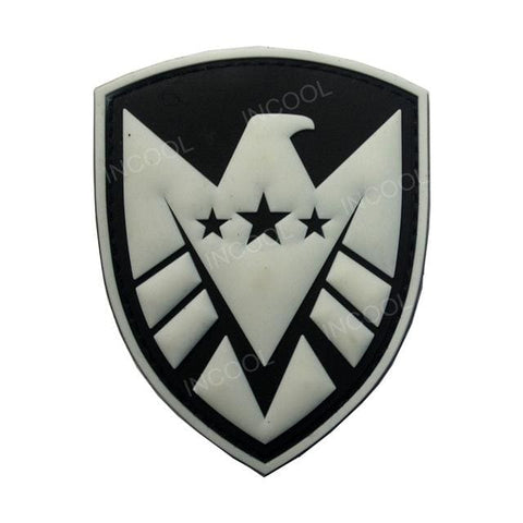 Image of Assorted 3D Pvc Glow In Dark Tactical Patches - 16 - Patches Patches