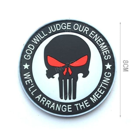 Assorted 3D Pvc Glow In Dark Tactical Patches - 21 - Patches Patches