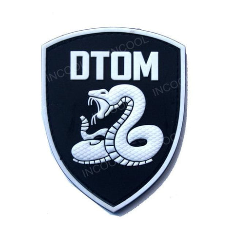 Image of Assorted 3D Pvc Glow In Dark Tactical Patches - 4 - Patches Patches