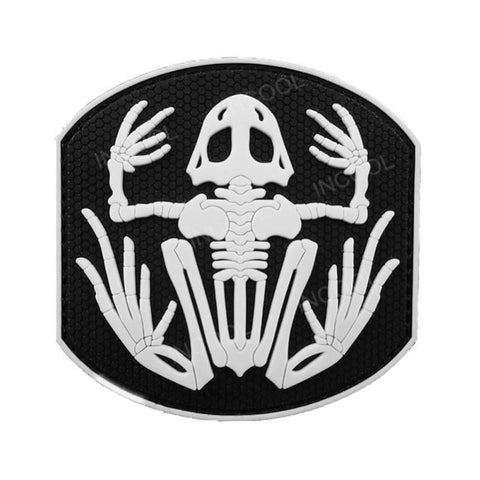 Image of Assorted 3D Pvc Glow In Dark Tactical Patches - Patches Patches