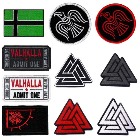 Image of Assorted Tactical Viking Patch - Patches Patches Vikings