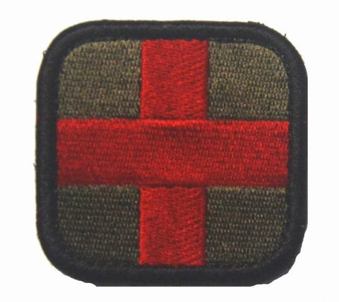 Image of Assorted Templar Teutonic Knights Medic Cross Tactical Patches - 2 - Patches Knights Patches