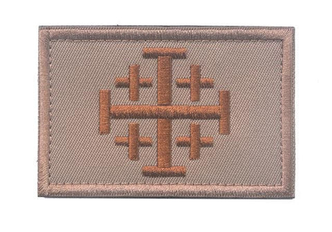 Assorted Templar Teutonic Knights Medic Cross Tactical Patches - 5 - Patches Knights Patches