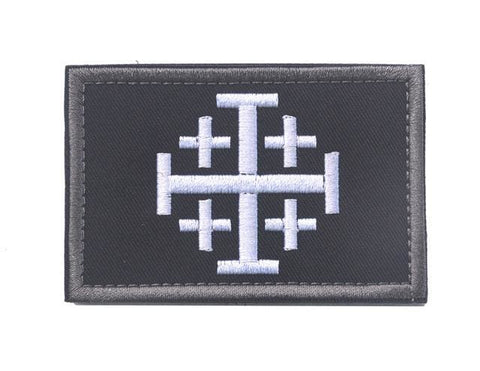 Image of Assorted Templar Teutonic Knights Medic Cross Tactical Patches - 6 - Patches Knights Patches