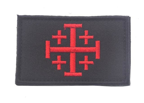 Image of Assorted Templar Teutonic Knights Medic Cross Tactical Patches - 7 - Patches Knights Patches