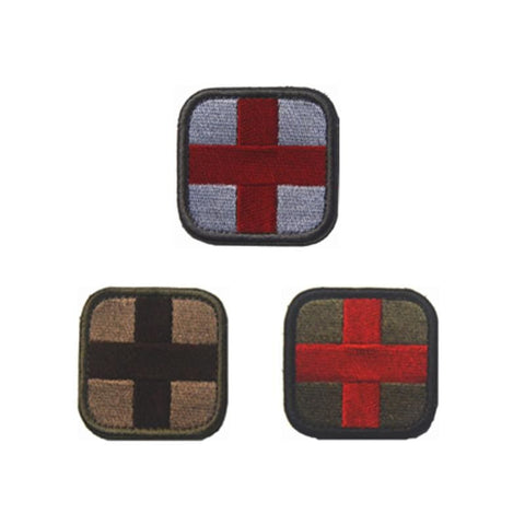 Assorted Templar Teutonic Knights Medic Cross Tactical Patches - Patches Knights Patches