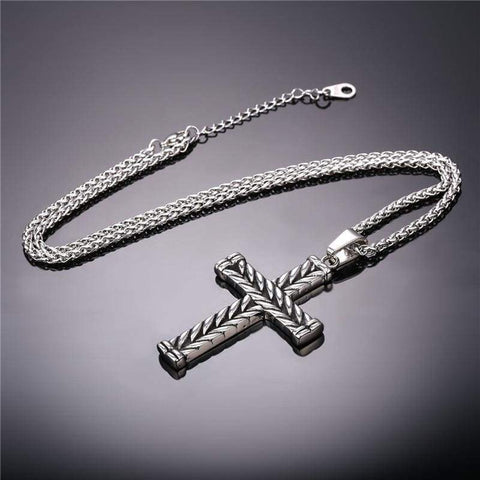 Athelstans Cross - Pendant Necklaces Jewelry Knights Necklace