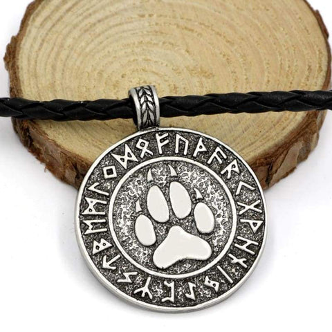 Image of Bear Viking Rune Pendant - Jewelry Spirit Bear Company