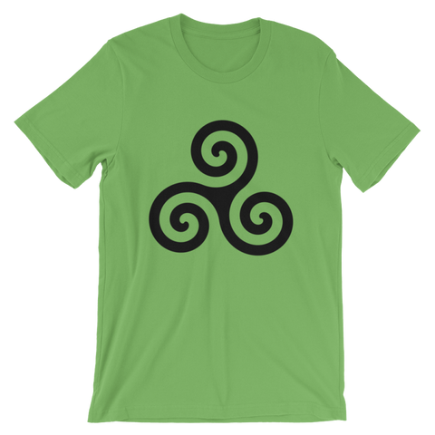Britannia Triple Spiral T-Shirt - S - Apparel T-Shirts