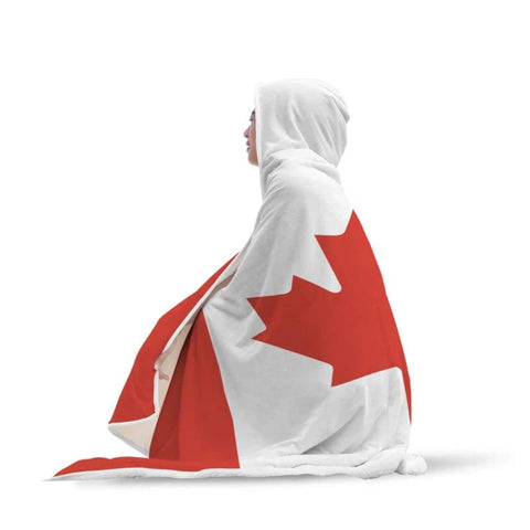 Image of Canada Hooded Blanket - Hooded Blanket Blankets Hooded Blankets