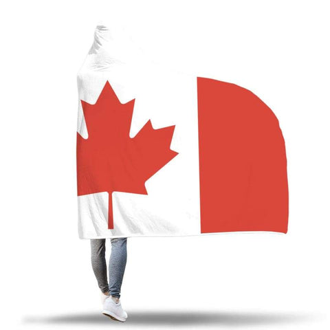 Canada Hooded Blanket - Hooded Blanket Blankets Hooded Blankets