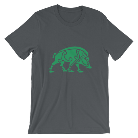 Celtic Boar T-Shirt - Asphalt / S - Apparel T-Shirts