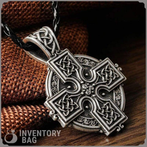 Image of Celtic Cross Talisman - Pendant Necklaces Jewelry Necklace Vikings