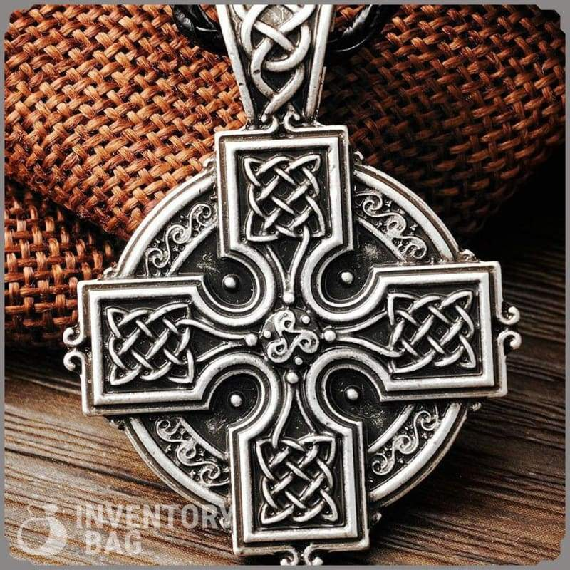 Celtic Cross Talisman - Pendant Necklaces Jewelry Necklace Vikings