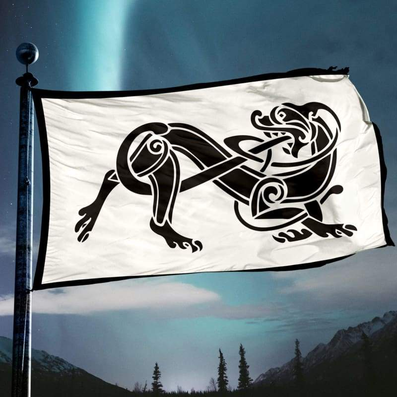Celtic Dog Flag - Flags Banners & Accessories Flag