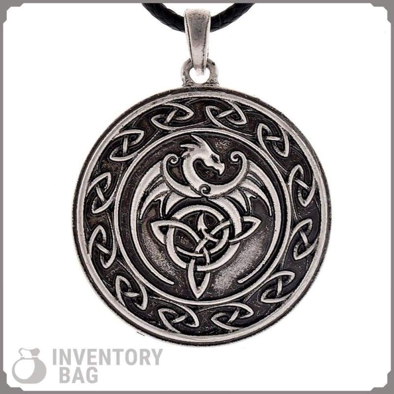 Celtic Dragon - Jewelry Necklace Vikings