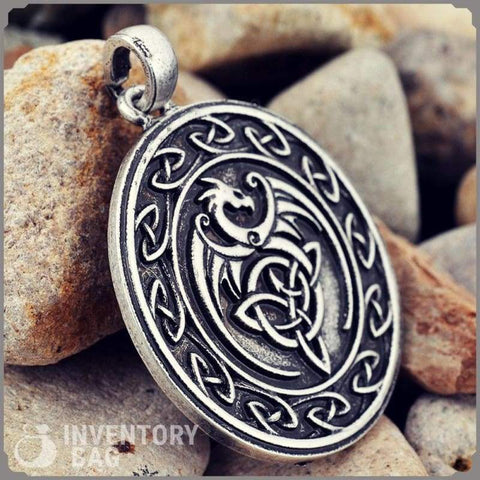 Image of Celtic Dragon - Jewelry Necklace Vikings