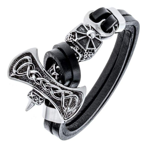 Celtic Hammer Bangle - Chain & Link Bracelets Bracelet Vinkings