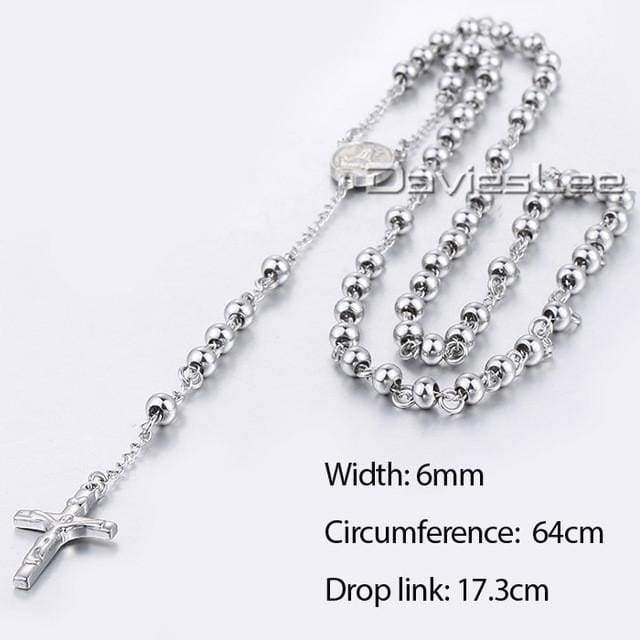 Chain Rosary - Dlkn365 - Chain Necklaces Jewelry Knights Necklace