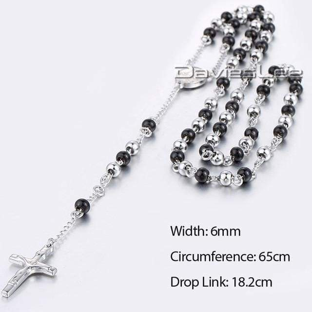 Chain Rosary - Dlkn380 - Chain Necklaces Jewelry Knights Necklace