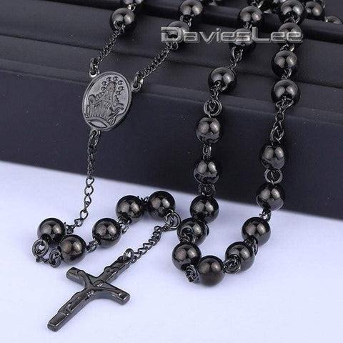 Image of Chain Rosary - Chain Necklaces Jewelry Knights Necklace