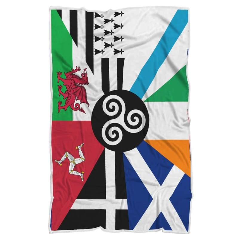 Combined Celtic Nations Blanket - Blanket Blankets