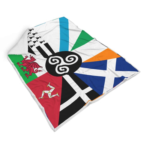 Image of Combined Celtic Nations Blanket - Blanket Blankets