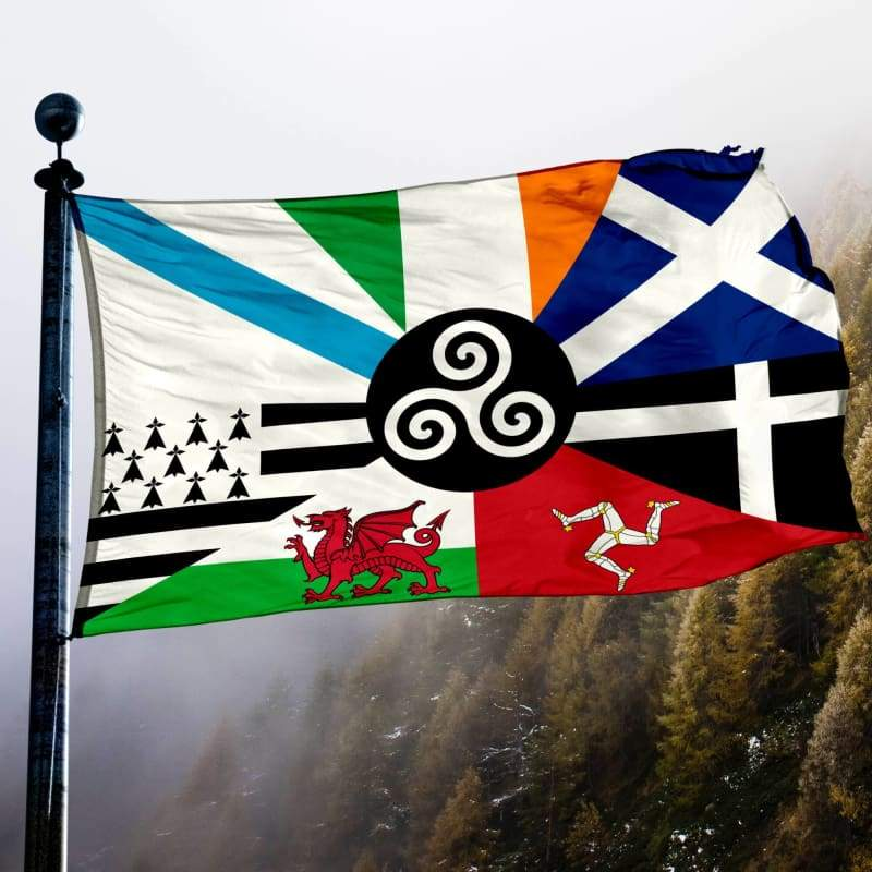 Combined Celtic Nations Flag - Flags Banners & Accessories Flag Flags