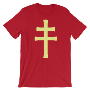 Cross Of Lorraine T-Shirt - S - Apparel T-Shirts