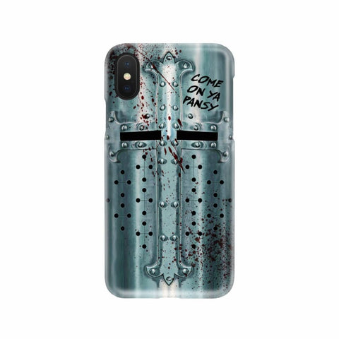 Image of Crusader Helmet - Battle Ready Helmet Phone Case - Phone Case Cases Phonecases Phones