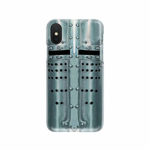 Crusader Templar Helmet - Great Helm Phone Case - Phone Case Cases Phonecases Phones