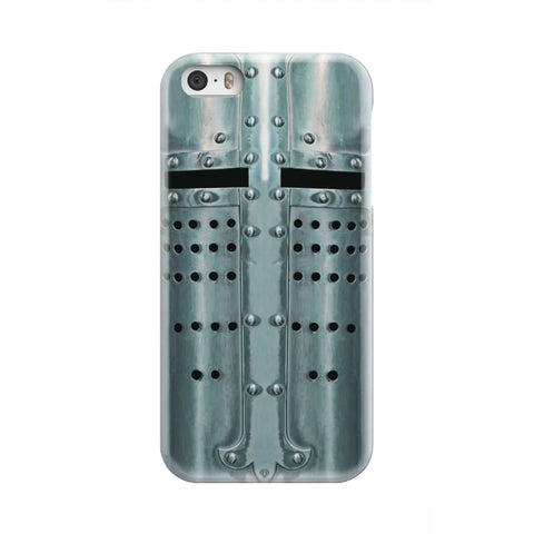 Crusader Templar Helmet - Great Helm Phone Case - Iphone 5 - Phone Case Cases Phonecases Phones