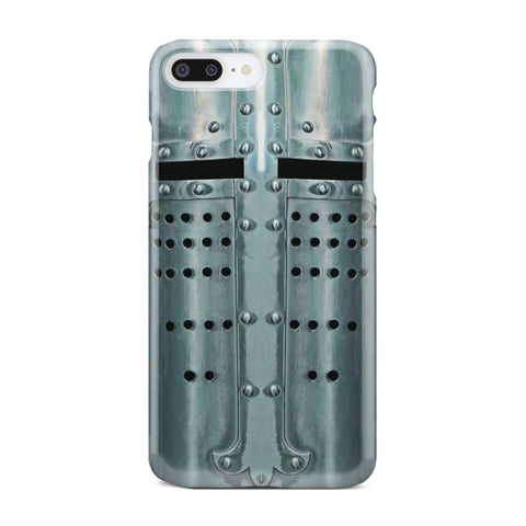 Crusader Templar Helmet - Great Helm Phone Case - Iphone 7 Plus - Phone Case Cases Phonecases Phones