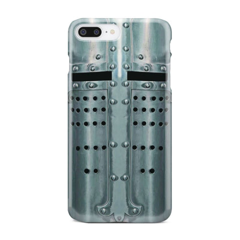 Crusader Templar Helmet - Great Helm Phone Case - Iphone 8 Plus - Phone Case Cases Phonecases Phones