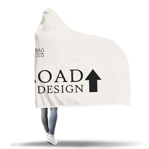 Image of Custom Hooded Blanket - Hooded Blanket Custom Hooded Blankets