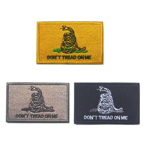 Image of Dont Tread On Me Assorted Patches - Patches Patches