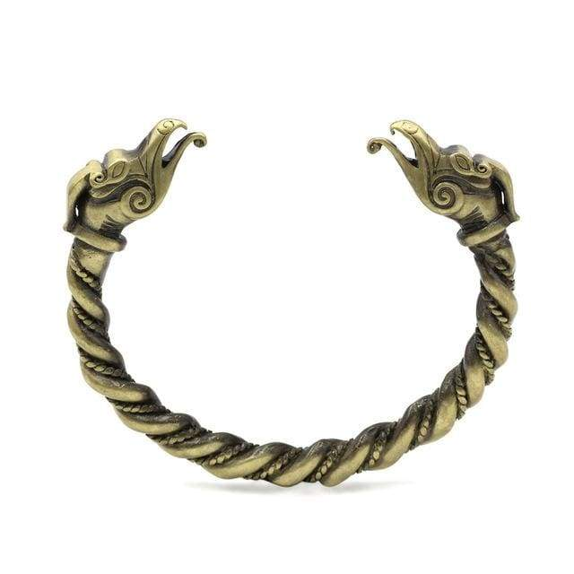 Dragon Bracelet - Antique Bronze Plated - Bracelet Vikings
