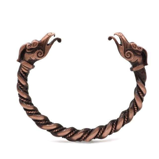 Dragon Bracelet - Antique Copper Plated - Bracelet Vikings