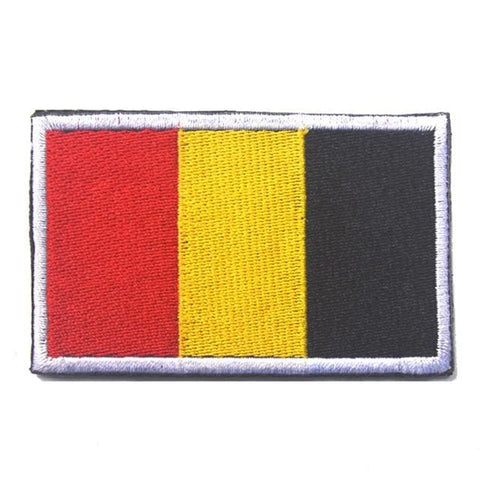 European Flag Tactical Patches - Belgium - Patches Patches