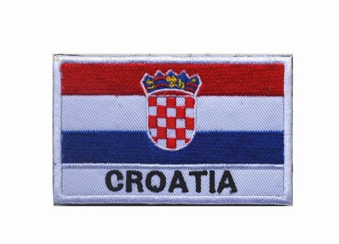 European Flag Tactical Patches - Croatia - Patches Patches