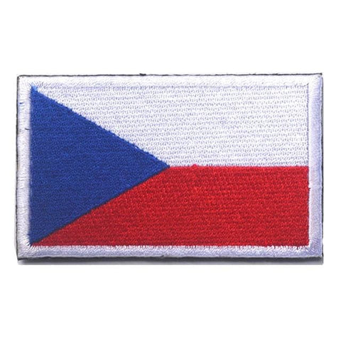 European Flag Tactical Patches - Czech Republic - Patches Patches