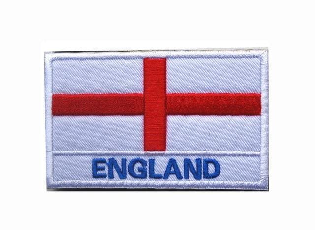 European Flag Tactical Patches - England - Patches Patches