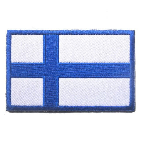 European Flag Tactical Patches - Finland - Patches Patches