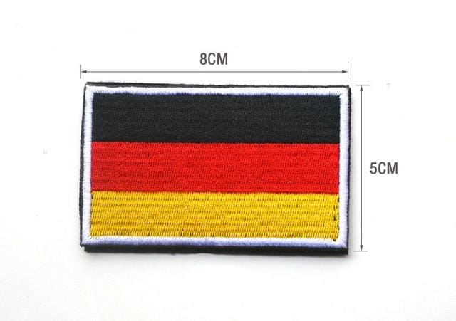 European Flag Tactical Patches - Germany - Patches Patches